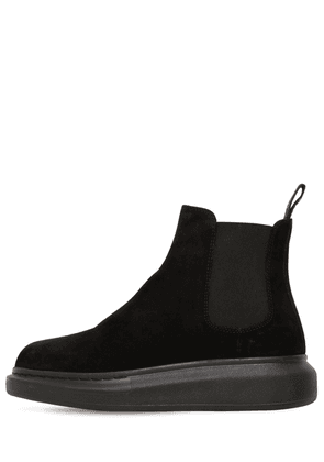 45mm Hybrid Suede Slip-on Boots