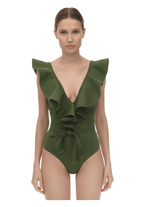 On The Shore Lycra One Piece Swimsuit