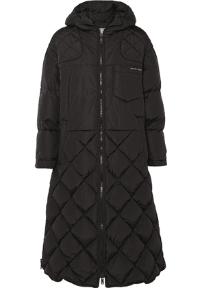 Prada - Hooded Quilted Shell Down Coat - Black