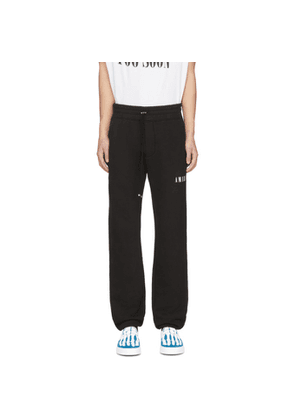 Amiri Black Dagger Lounge Pants