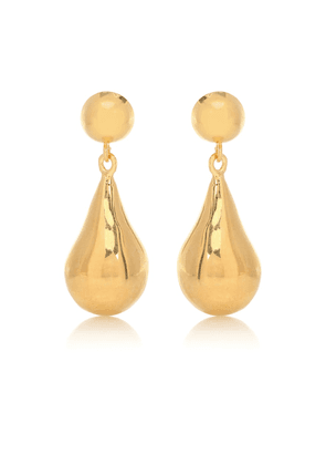 Exclusive to Mytheresa – Small Tear Drop 18kt gold-plated sterling silver earrings
