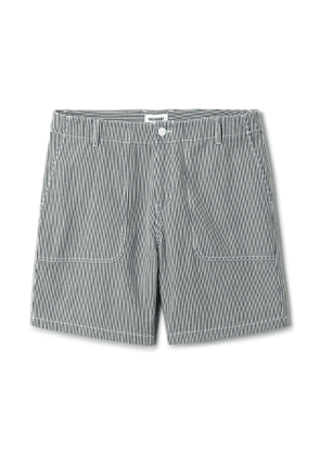 James Striped Shorts - White