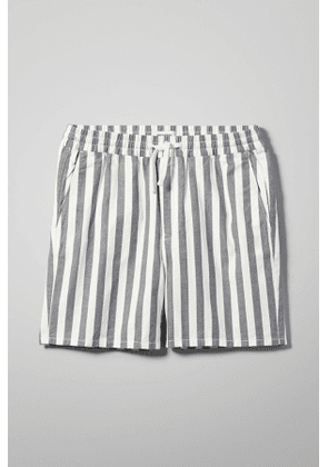 Olsen Stripe Shorts - Blue