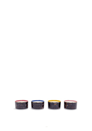 La DoubleJ - Set Of Four Goddess Gilded-edge Scented Candles - Multi