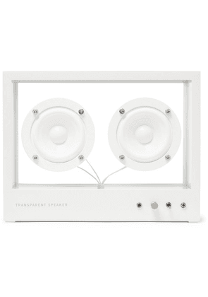 TRANSPARENT SPEAKER - Small Transparent Speaker - White