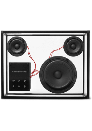 TRANSPARENT SPEAKER - Transparent Speaker - Black