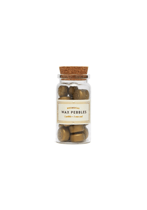 Whimsical wax pebbles - Gold