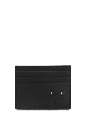 Leather Card Holder W/cubic Eyes