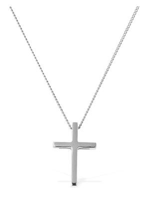 Slim Necklace W/ 3d Cross