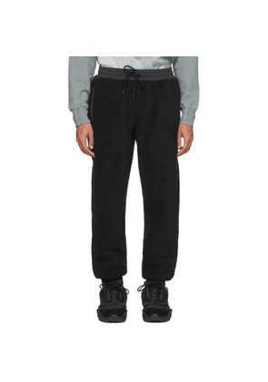Li-Ning Black Fleece Jogger Lounge Pants