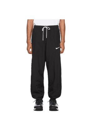 Nike Black Swoosh Lounge Pants