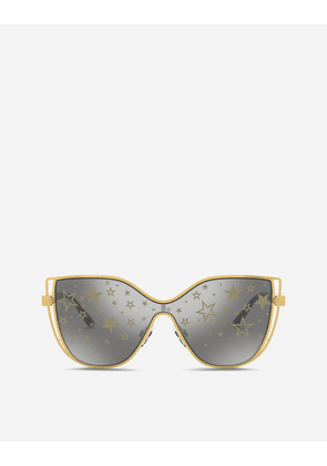 Dolce & Gabbana Sunglasses - MILLENNIAL STAR SUNGLASSES GOLD AND BLACK