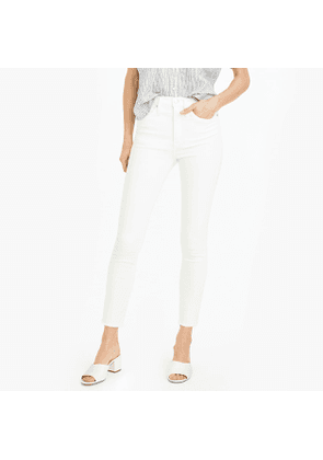 """Tall 10"""" highest-rise toothpick jean in white"""