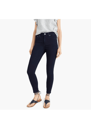 Petite 9' high-rise jeggings in rinse wash