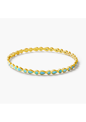 Melinda Maria Designs™ Isla bangle with opal