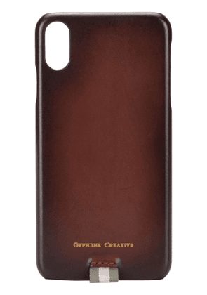 Officine Creative iPhone X Max cover - Brown