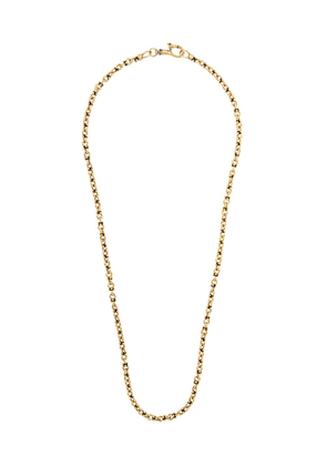 John Varvatos double round chain necklace - Gold
