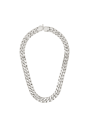 Tom Wood Cuban curb chain link necklace - Metallic