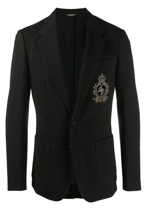 Dolce & Gabbana embroidered blazer - Black