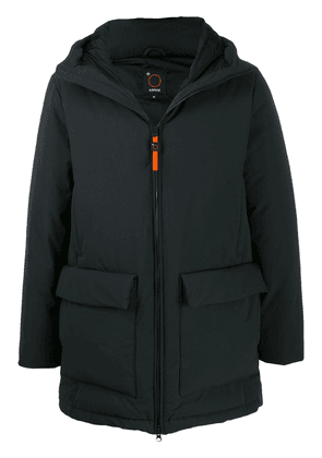 Aspesi hooded padded coat - Blue
