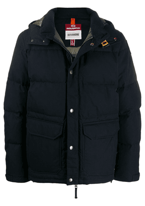Parajumpers hooded down jacket - Blue