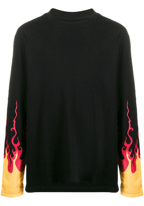 D.Gnak flame print T-shirt - Black