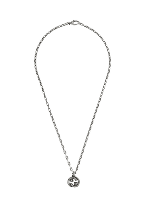 Gucci Interlocking G pendant necklace - SILVER