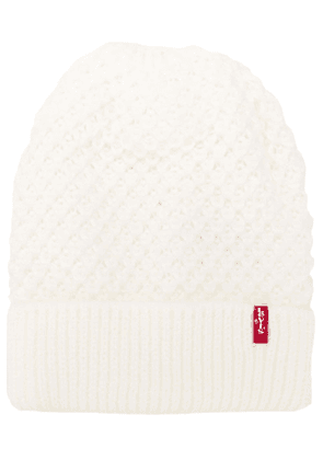 Levi's knitted beanie - White