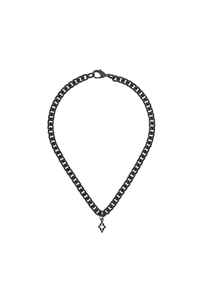 Marcelo Burlon County Of Milan chunky chain necklace - Black