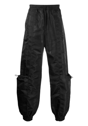 D.Gnak drawstring cargo pants - Black