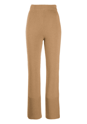 Joseph cashmere knitted trousers - Brown