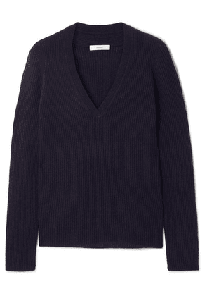 Vince - Ribbed Cashmere Sweater - Navy