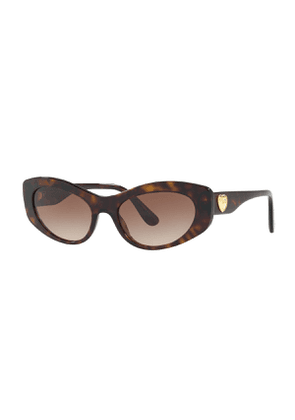 Cat-Eye Logo Heart Sunglasses