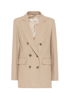 Lacuna camel-hair and cashmere blazer