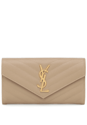 Monogram Large leather wallet