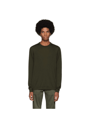 Norse Projects Green Merino Sigfred Sweater