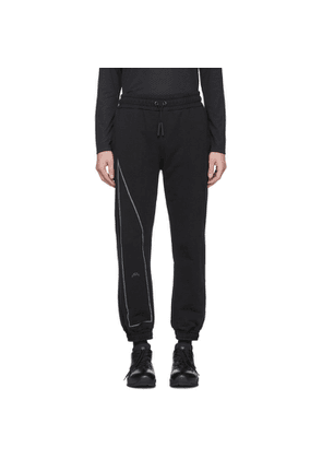 A-Cold-Wall* Black Reflective Sweatpants