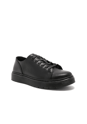 Dr. Martens Dante 6 Eye Leather Shoes in Black - Black. Size 12 (also in 8,9).