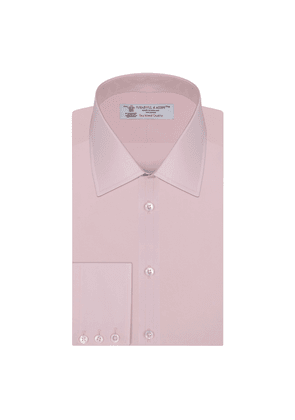 Pink Sea Island Quality Cotton Shirt