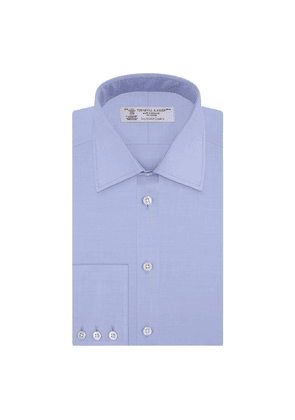 Blue Sea Island Quality Cotton Twill Shirt