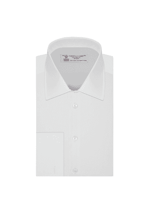 White West Indian Sea Island Quality Cotton Shirt