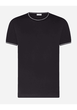 Dolce & Gabbana Underwear - ROUND-NECK STRETCH COTTON T-SHIRT BLACK