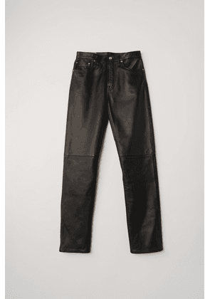 Acne Studios Acne Studios 1997 Leather Black Leather trousers