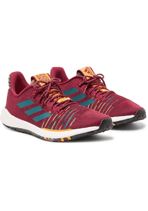 adidas Consortium - + Missoni Pulseboost Hd Stretch-knit Sneakers - Burgundy