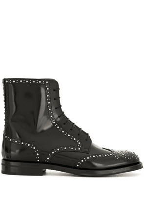 Church's Binder Lace-Up Stud ankle boots - Black