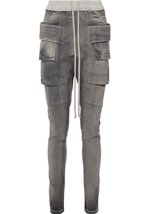 Rick Owens - Creatch High-rise Tapered Jeans - Anthracite