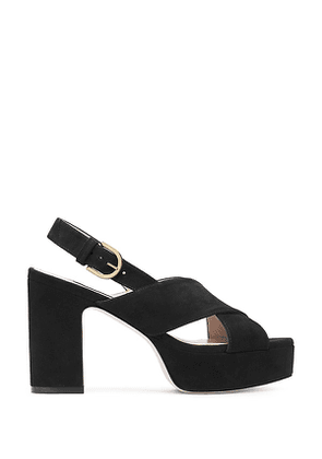 Stuart Weitzman - The Jerry Sandal In Black - Size 39.5