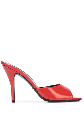 Gucci open-toe slip-on sandals - Red