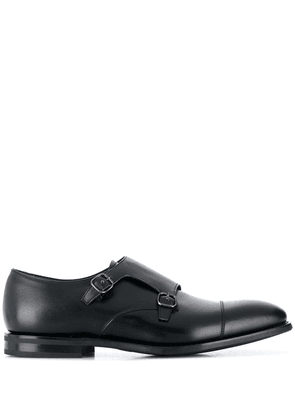 Church's buckle over Oxford shoes - Black