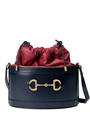 Gucci Gucci 1955 Horsebit bucket bag - Blue